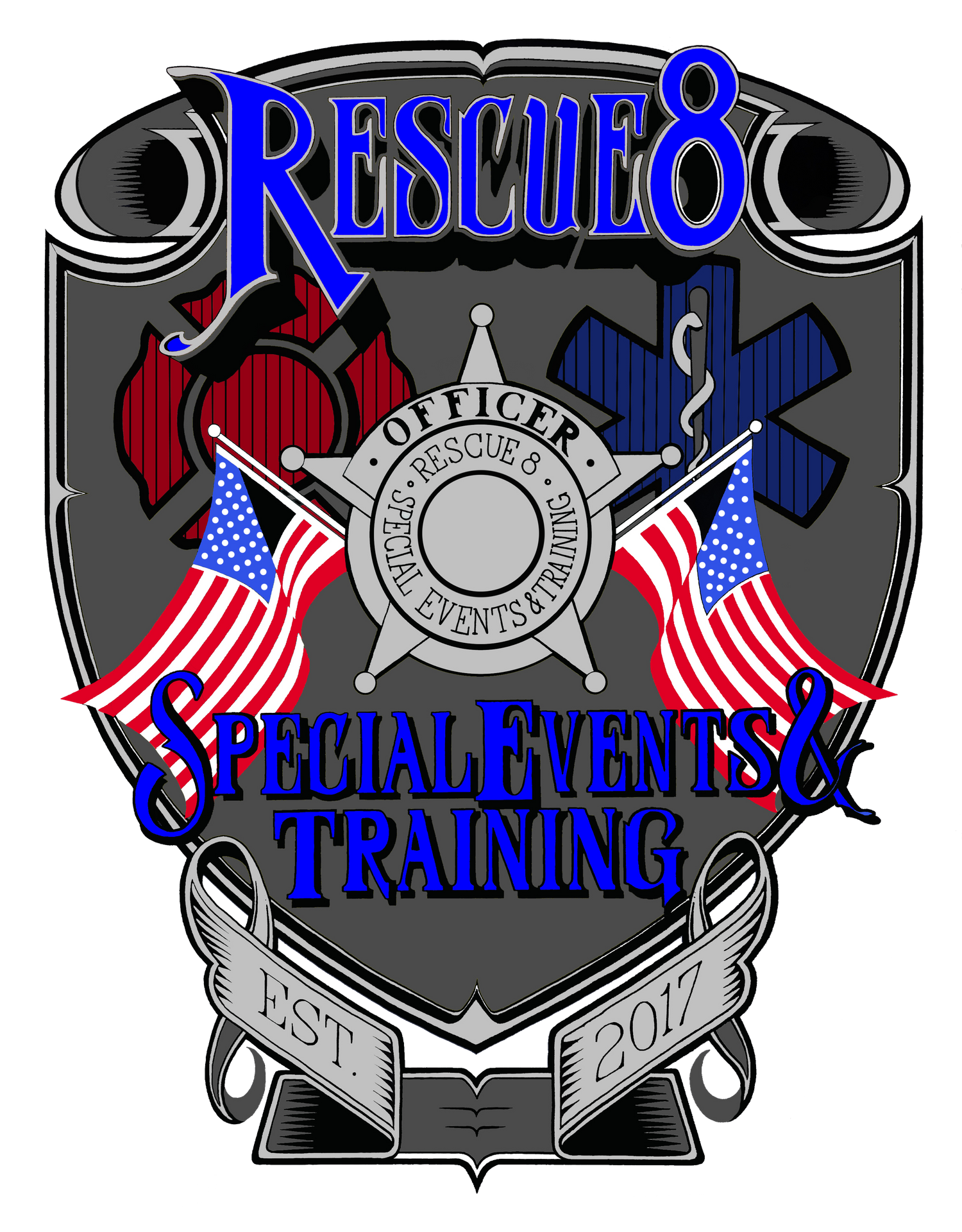 Rescue 8 Patch Design no background-2